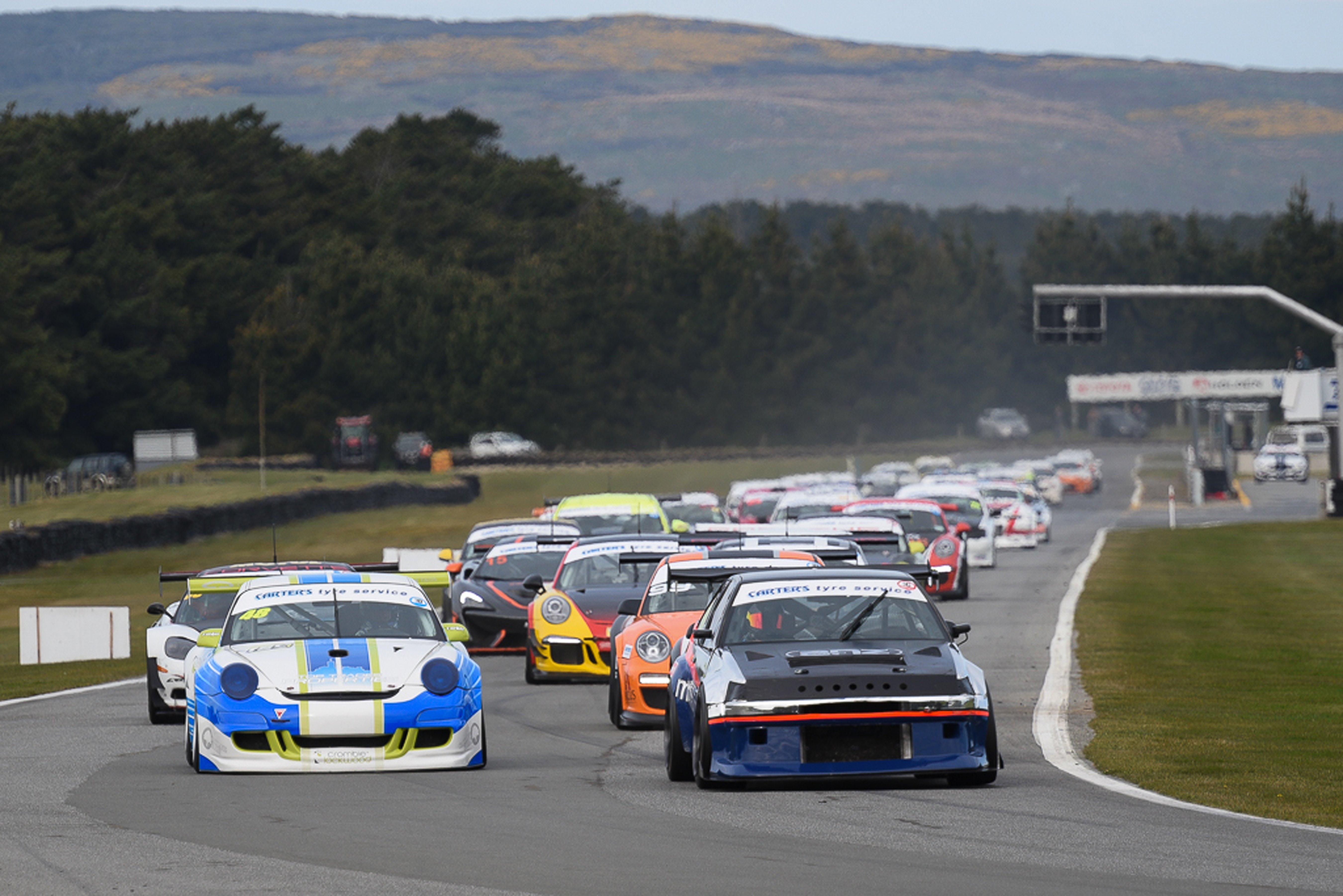 Drama at opening enduro race