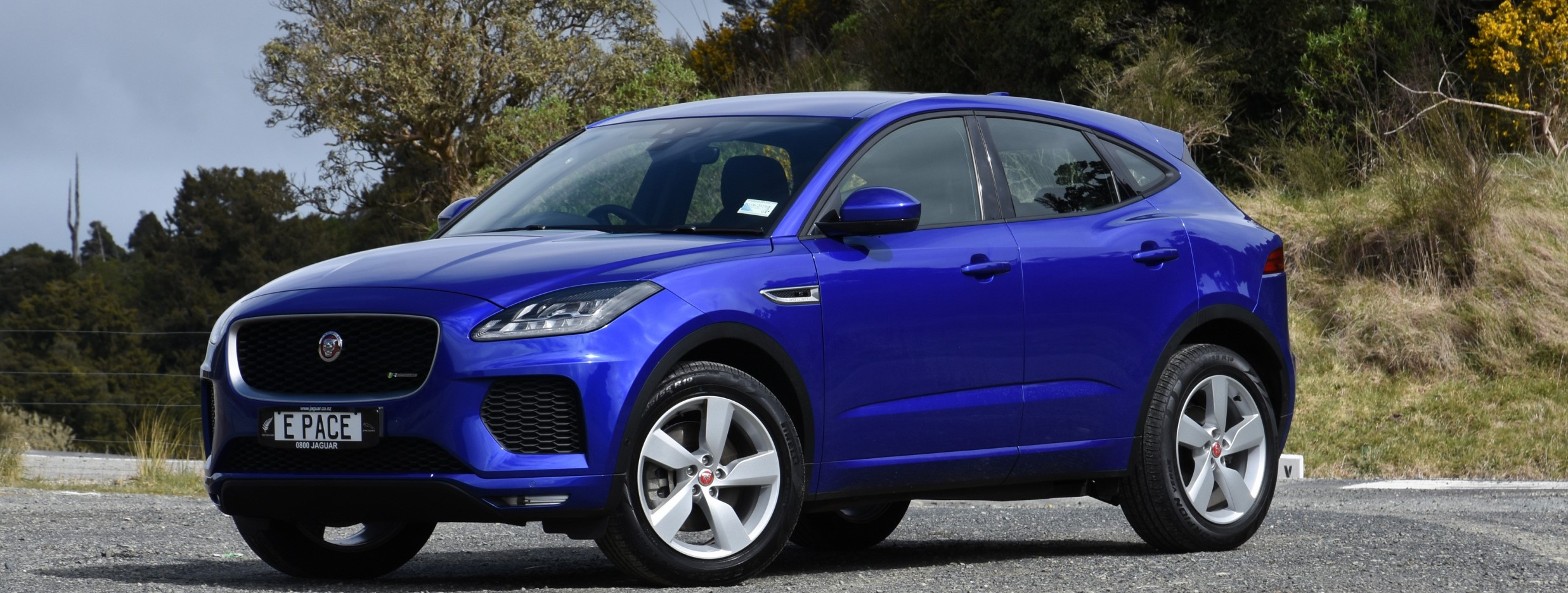Jaguar is dipping its toes into the compact SUV market. And, writes David Thomson, with the E-Pace it's going to make quite a splash.