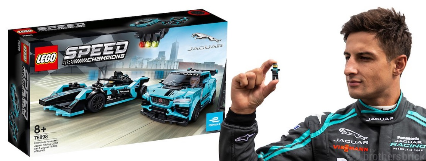You know you've hit the big time when your racing team is immortalised in a Lego set.