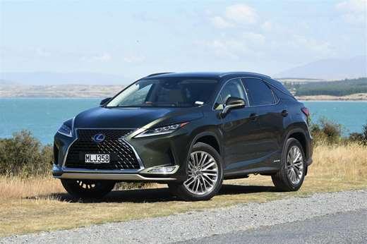 Lexus updated for 2020