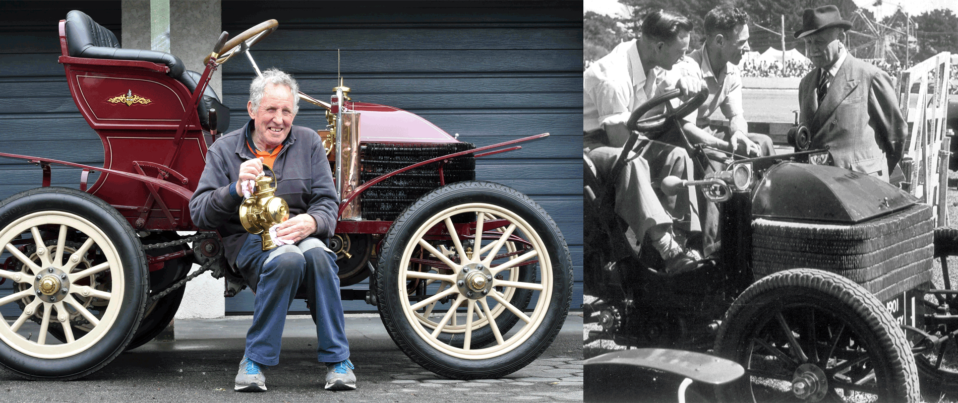 'Grandma' No Getaway Car But Still Good For Rallies - Check out Colin Winter's 1900 Wolseley