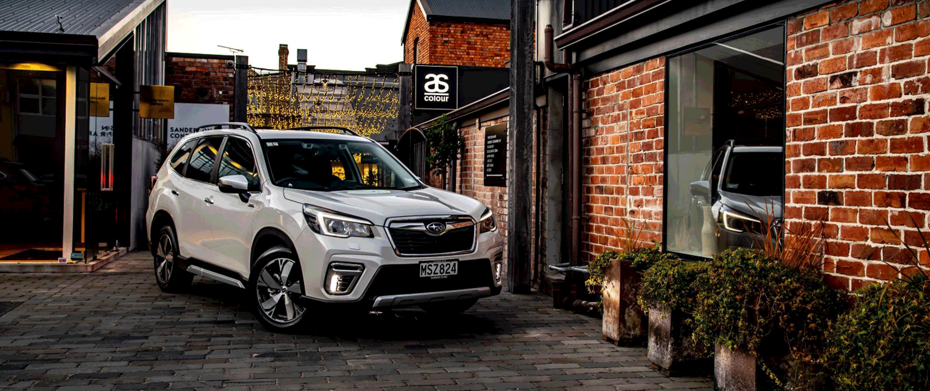 Get Behind The Wheel Of The Sprightly Subaru Forester Hybrid