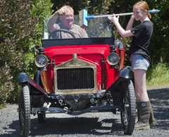 Drivers gear up for veteran car rally