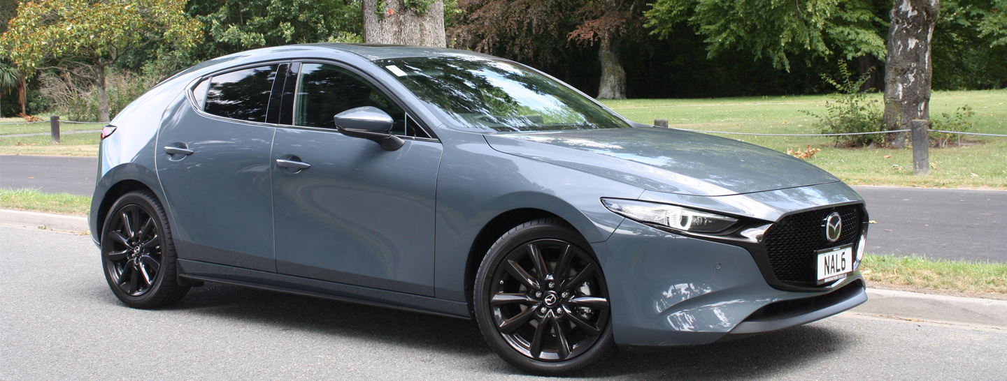 Ross Kiddie discovers new hybrid technology in the Mazda3 Skyactiv-X Takami