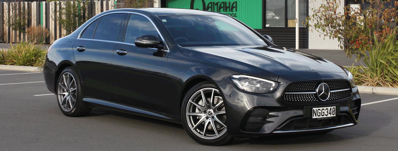 Mercedes Sedan High On Luxury